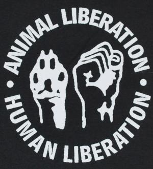 Detailansicht Trägershirt: Animal Liberation - Human Liberation
