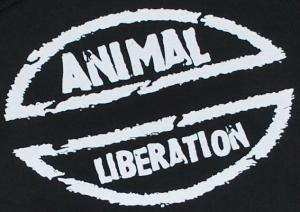 Detailansicht Kapuzen-Pullover: Animal Liberation