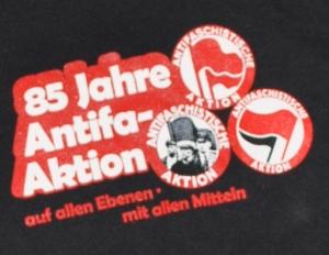 Detailansicht Kapuzen-Pullover: Antifa Jubilee