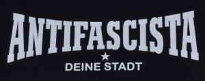 Detailansicht T-Shirt: Antifascista Deine Stadt