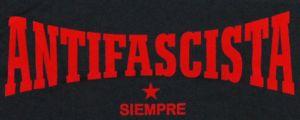 Detailansicht T-Shirt: Antifascista siempre