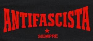 Detailansicht Girlie-Shirt: Antifascista siempre