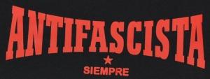 Detailansicht Trägershirt: Antifascista siempre