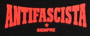Detailansicht Shorts: Antifascista siempre