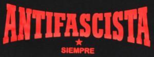 Detailansicht Longsleeve: Antifascista Siempre