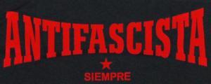 Detailansicht Jogginghose: Antifascista siempre