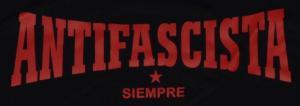Detailansicht Fairtrade T-Shirt: Antifascista siempre