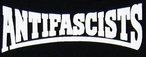 Detailansicht Girlie-Shirt: Antifascists