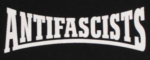 Detailansicht Kapuzen-Pullover: Antifascists