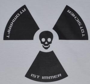 Detailansicht tailliertes Tanktop: Atomkraft ist immer todsicher