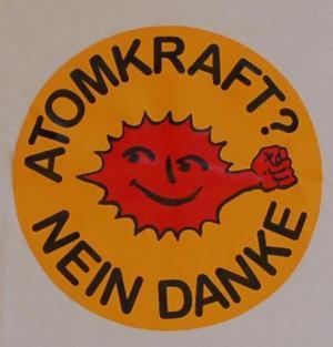 Detailansicht Kapuzen-Longsleeve: Atomkraft? Nein Danke - mit Faust