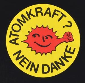 Detailansicht Fairtrade T-Shirt: Atomkraft? Nein Danke - mit Faust