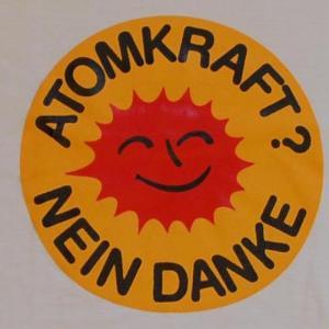 Detailansicht Kapuzen-Longsleeve: Atomkraft? Nein Danke