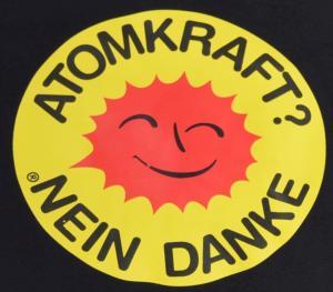 Detailansicht Girlie-Shirt: Atomkraft? Nein Danke