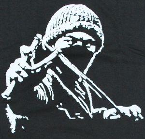 Detailansicht T-Shirt: Autonomer mit Zwille