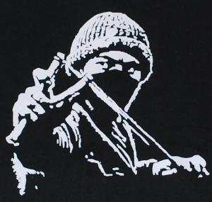 Detailansicht Kapuzen-Jacke: Autonomer mit Zwille