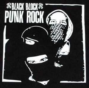 Detailansicht Woman Tanktop: Black Block Punk Rock