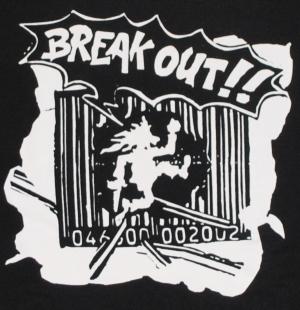 Detailansicht Kapuzen-Pullover: Break Out!!