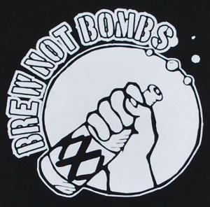 Detailansicht Longsleeve: Brew not Bombs