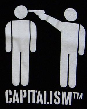 Detailansicht Top / Trägershirt: Capitalism [TM]