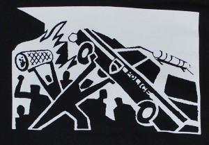 Detailansicht Sweat-Jacket: Copcar