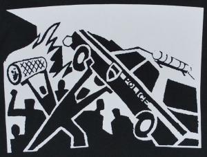 Detailansicht Trägershirt: Copcar