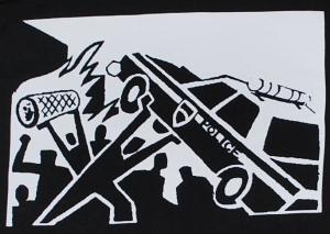 Detailansicht Kapuzen-Pullover: Copcar