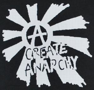 Detailansicht Polo-Shirt: Create Anarchy
