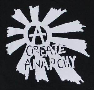 Detailansicht Kapuzen-Jacke: Create Anarchy