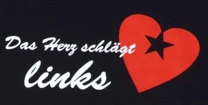 Detailansicht T-Shirt: Das Herz schlägt links