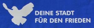 Detailansicht T-Shirt: Deine Stadt für den Frieden