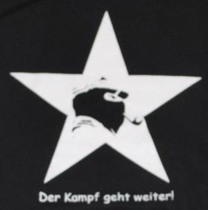 Detailansicht Kapuzen-Pullover: Der Kampf geht weiter!