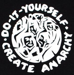 Detailansicht Man Tanktop: do it yourself - create anarchy