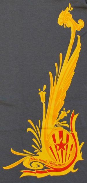 Detailansicht T-Shirt: Dragon Gold