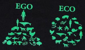 Detailansicht Kapuzen-Pullover: Ego - Eco