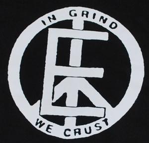 Detailansicht Kapuzen-Pullover: Equality - In Grind We Crust