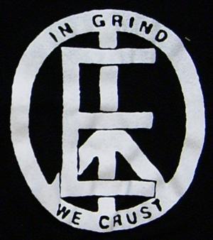 Detailansicht Trägershirt: Equality - In Grind We Crust