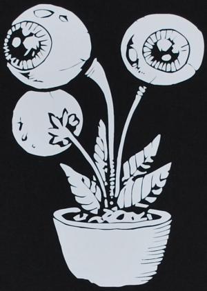 Detailansicht T-Shirt: Eyeflower
