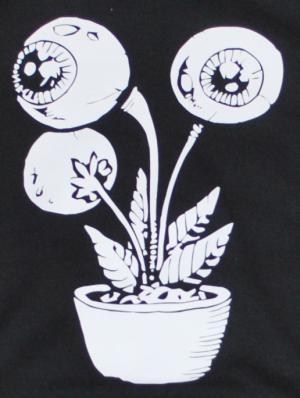 Detailansicht Kapuzen-Pullover: Eyeflower