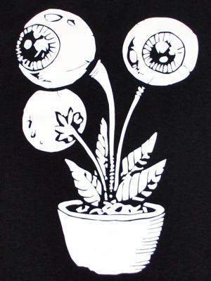 Detailansicht tailliertes Tanktop: Eyeflower