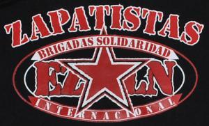 Detailansicht Kapuzen-Pullover: EZLN Zapatistas Brigadas Solidaridad