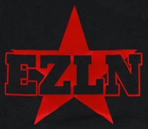 Detailansicht Girlie-Shirt: EZLN