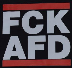 Detailansicht tailliertes Tanktop: FCK AFD
