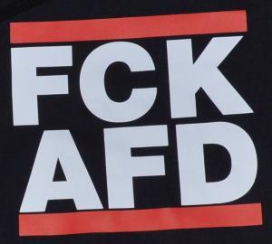 Detailansicht Kapuzen-Pullover: FCK AFD