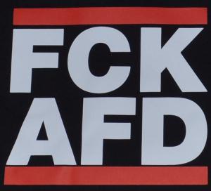 Detailansicht Girlie-Shirt: FCK AFD