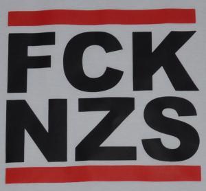 Detailansicht Girlie-Shirt: FCK NZS