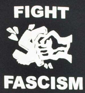 Detailansicht Sweat-Jacket: Fight Fascism