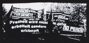 Detailansicht Girlie-Shirt: Freiheit wird nicht erbettelt