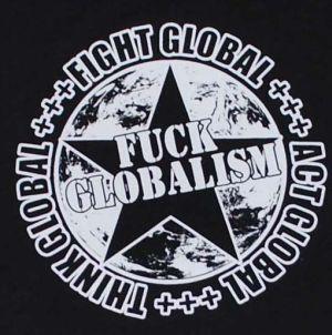Detailansicht T-Shirt: Fuck Globalism