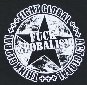 Detailansicht Sweat-Jacket: Fuck Globalism